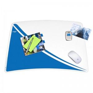błękitny model podkładki na biurko